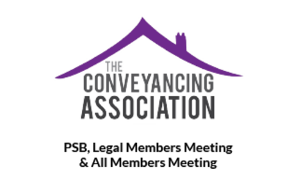 Conveyancing Association PSB Meeting preview