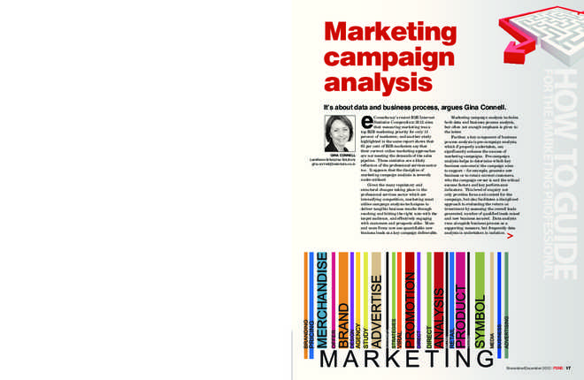 Marketing campaign analysis preview