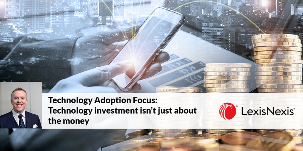 Technology investment isn't just about the money preview
