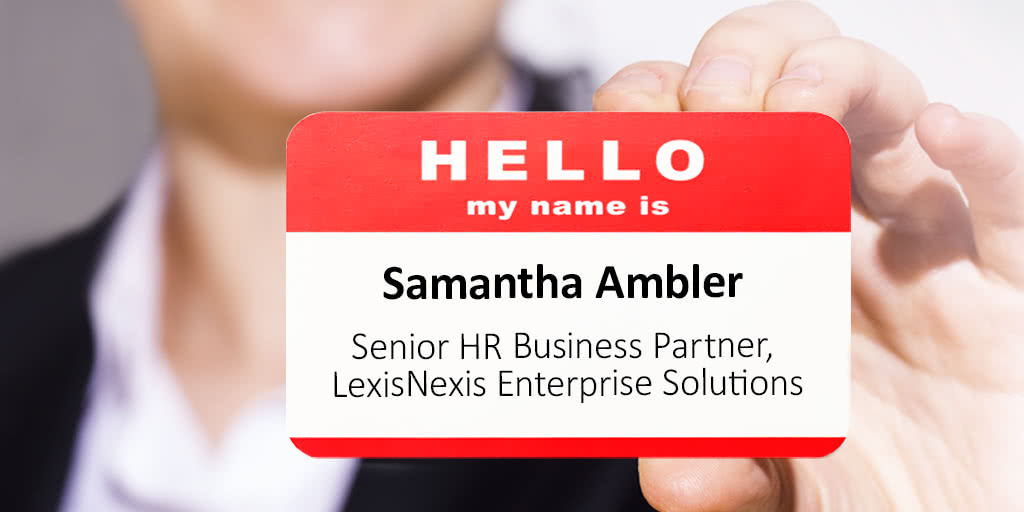 Samantha Ambler Drives the HR Agenda at LexisNexis Enterprise Solutions preview